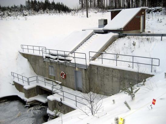 Vetelin energia Pihlajamaan vesivoimalaitos